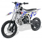 Moto cross 50cc Racing 14/12 9cv automatique Kick starter bleu
