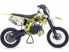 Moto cross 50cc Racing 14/12 9cv automatique Kick starter jaune
