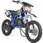 Moto cross 50cc Sporty 14/12 3,5cv Kick starter bleu