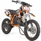 Moto cross 50cc Sporty 14/12 3,5cv Kick starter orange