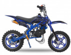 Moto cross enfant 49cc e-start 10/10 Viper bleu