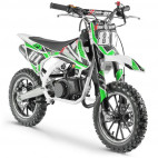 Moto cross pocket 50cc 2 Temps 10/10 blanc et vert
