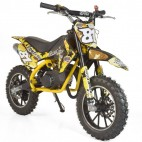 Moto cross pocket 50cc 2 Temps 10/10 jaune