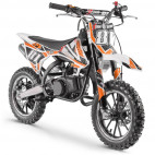 Moto cross pocket 50cc 2 Temps 10/10 orange