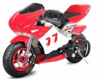 Moto de course PS77 49cc rouge