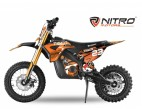 Moto électrique enfant Tiger 1000W Lithium 36V 12/10 orange