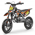MX Storm 50cc orange moto cross enfant
