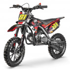 MX Storm 50cc rouge moto cross enfant