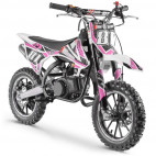 Moto cross pocket 50cc 2 Temps 10/10 rose