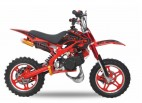 Pocket bike cross thermique 49cc 10/10 e-start rouge