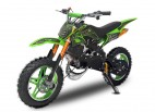Pocket bike cross thermique 49cc 10/10 e-start vert