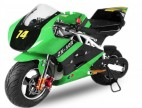 Pocket Bike Rocket Sport Deluxe PS50 49cc Vert