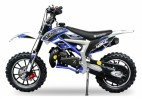 Pocket cross 49cc Cheetah deluxe 10/10 Kick starter bleu