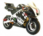 Pocket piste Racing 50cc noir