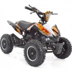 Quad 50cc noir et orange 6