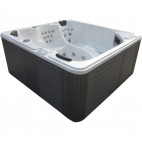 Spa jacuzzi carré 3 places Luxa