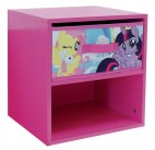 Table de chevet 1 tiroir 1 niche My Little Pony