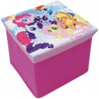 Tabouret de rangement pliable My little Pony