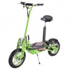 Trottinette électrique cross 1600W 48V 12AH lithium vert E-Road