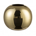 Vase boule métal doré brillant Narsh - Lot de 2