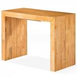 console extensible bois massif ch ne clair 50 250 cm 12 personnes. Black Bedroom Furniture Sets. Home Design Ideas