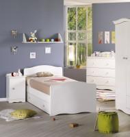 armoire 2 portes folio blanc sauthon lestendancesfr