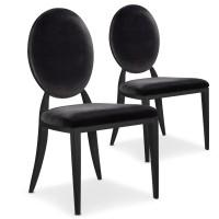 chaise en velours medaillon couleur rouge. Black Bedroom Furniture Sets. Home Design Ideas