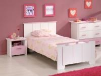 Chambre enfant blanche et rose Betty - LesTendances.fr