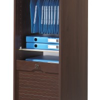 classeur de bureau rideau weng officia hauteur 140 cm. Black Bedroom Furniture Sets. Home Design Ideas