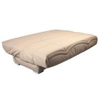 clic clac beige matelas sofaconfort 17 cm sadia. Black Bedroom Furniture Sets. Home Design Ideas