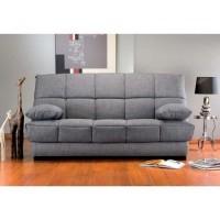 clic clac gris matelas bultex 14 cm bangor. Black Bedroom Furniture Sets. Home Design Ideas