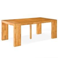 Console extensible bois massif ch ne clair 50 250 cm - Meuble gautier avis ...