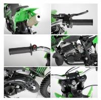 dirt bike 49cc nrg ktm 12 10 9cv kick starter automatique vert. Black Bedroom Furniture Sets. Home Design Ideas