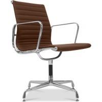 Fauteuil de bureau design cuir marron musk - Fauteuil de bureau 200 kg ...