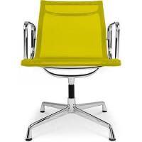 Fauteuil de bureau design tissu jaune musk - Fauteuil de bureau 200 kg ...