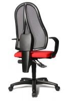 Fauteuil de bureau rouge open point p - Fauteuil de bureau 200 kg ...