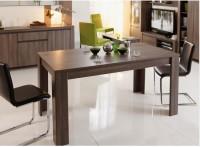 meuble tv bas r glisse marron mac o. Black Bedroom Furniture Sets. Home Design Ideas