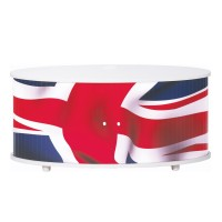 meuble tv blanc print drapeau anglais. Black Bedroom Furniture Sets. Home Design Ideas