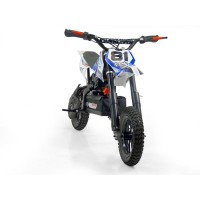 mini moto cross electrique 500w petite roue bleu mod le sans r gulateur. Black Bedroom Furniture Sets. Home Design Ideas