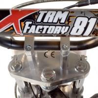 moto cross 110cc sport 14 12 semi automatique 4 temps e start verte. Black Bedroom Furniture Sets. Home Design Ideas