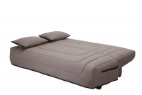 Clic clac taupe matelas simmons 140 winter - Clic clac matelas simmons ...