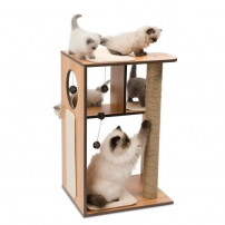 Arbre A Chat Vesper V-box Large Naturel