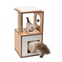 Arbre A Chat Vesper V-box Small Naturel