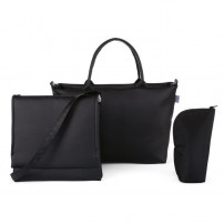 CHICCO Sac a langer 2 en 1 Pure Black