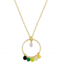 Collier Cerla Jade multicolore