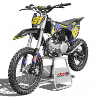 Dirt bike 125cc bleu 17/14 manuel 4 vitesses Spyder