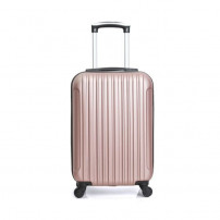 HERO - Valise Cabine Or Rosé 50x35x20 cm 4 Roues ABS