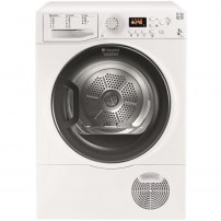 HOTPOINT FTCF97B6HY - Seche linge frontal - 9 kg - Condensation - B - Blanc