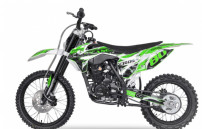 Hurricane 250cc vert 19/16 pouces Dirt bike nouvelle version