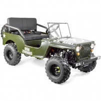 Jeep enfant 150cc automatique verte